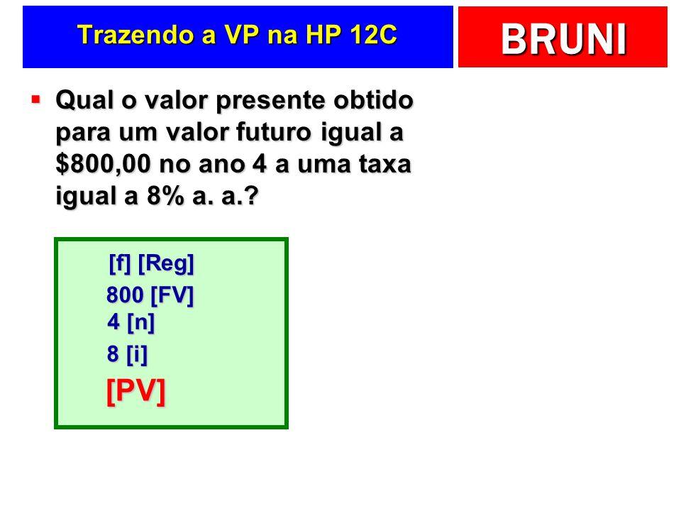 [PV] Trazendo a VP na HP 12C